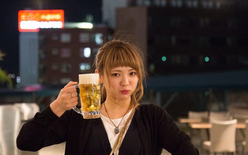 フェスとビールと男と女
