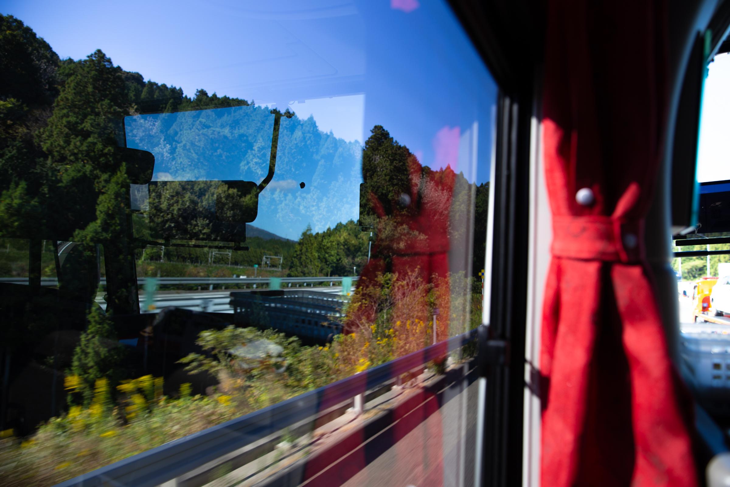 秋のバスツアー