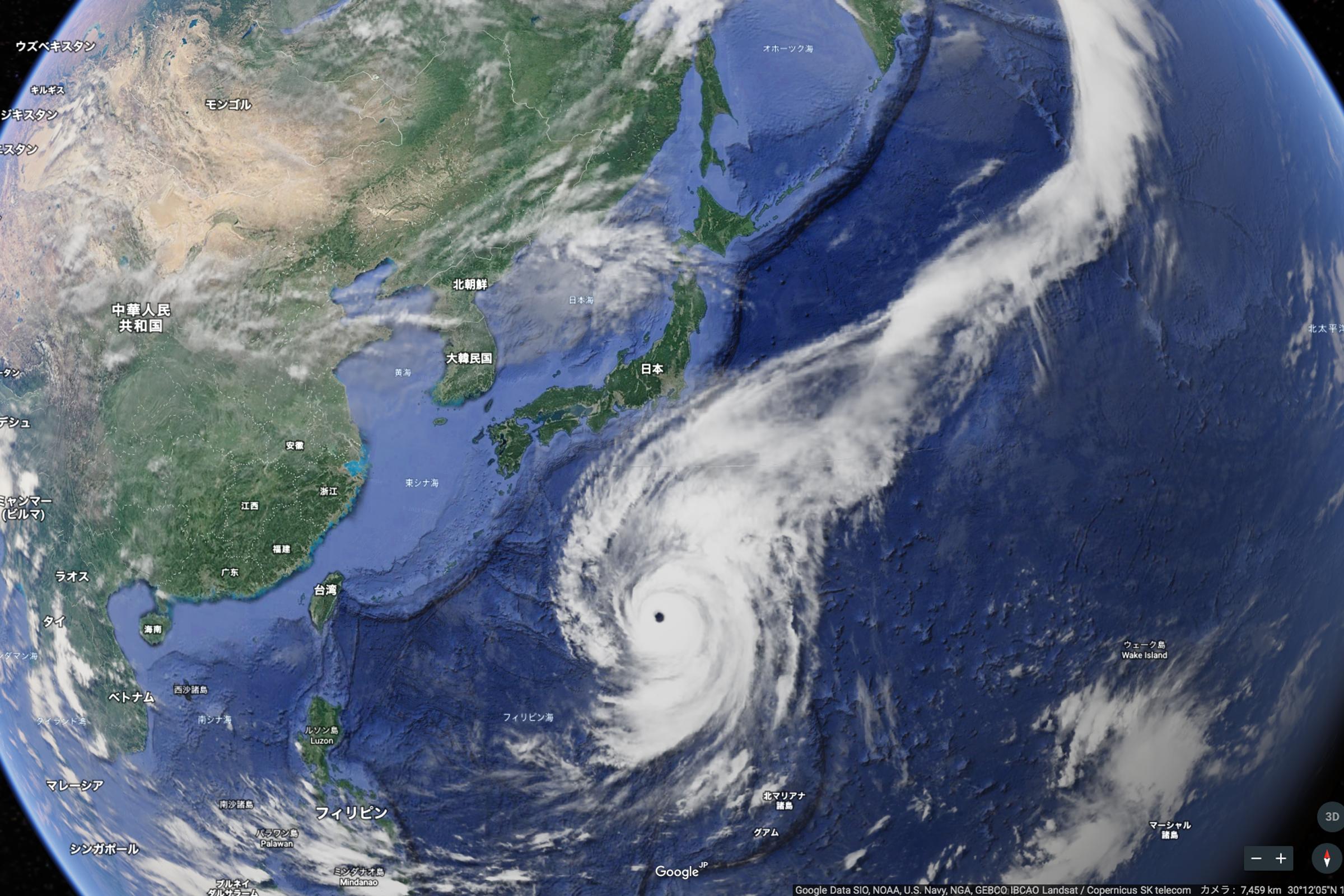 台風のお知らせと備えについて